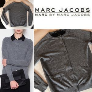 Marc by MARC JACOBS NEOPRENE BACK CARDIGAN NWOT S